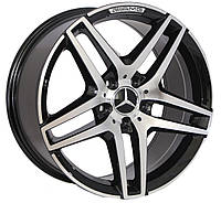 Литые диски Replica Mercedes (BK967) R20 W9.5 PCD5x112 ET35 DIA66.6 (GP)