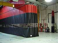 Шторы для склада, цеха из водо- морозостойкой ткани ПВХ (Бельгия)