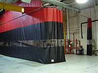 Шторы для склада, цеха из водо- морозостойкой ткани ПВХ (Германия)