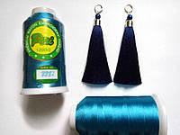 Нитки для машинной вышивки Peri premium, вискоза 120D/2, 3000 ярдов, цвет 3332