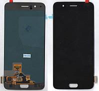 Дисплей + сенсор OnePlus 5 A5000 Черный OLED