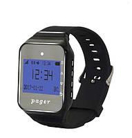 Пейджер - часы R-02B Black Watch Pager RECS USA