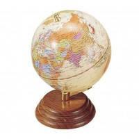 Глобус настольный настольный BESTAR на деревянной подставке 0909WPN