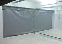 Шторы в гараж, защитные из ПВХ ткани водо- морозостойкой (Бельгия)
