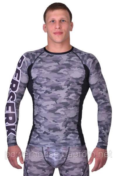 Рашгард для MMA Berserk TACTICAL CRAFT camo green