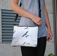 """Женская сумка """"Птицы в небе"""""""