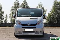 Защита переднего бампера (кенгурятник) Hyundai Santa Fe (2013-) /O60/ ус двойной Код:79250272