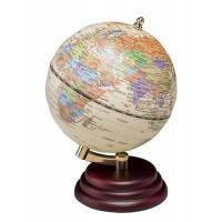 Глобус настольный BESTAR на деревянной подставке 0909WPM