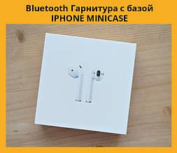 Bluetooth Гарнитура с базой IPHONE MINICASE