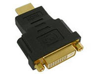Переходник DVI (мама) - HDMI (папа) адаптер male female мама папа