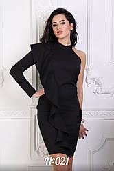 Женское нарядное платье через одно плече 42 44 46 48 размер опт розница