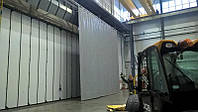 Защитные ПВХ шторы в гараж (завесы) из ПВХ ткани (Бельгия)