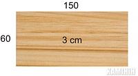 Плита з пісковика Hogar indian summer 60х150