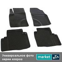 Модельные коврики в салон Mitsubishi ASX 2010-2012 Компл.: Полный комплект