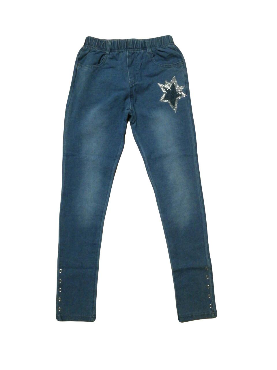 Лосины под джинс  для девочек F&D оптом, 8-16 лет, арт.9667