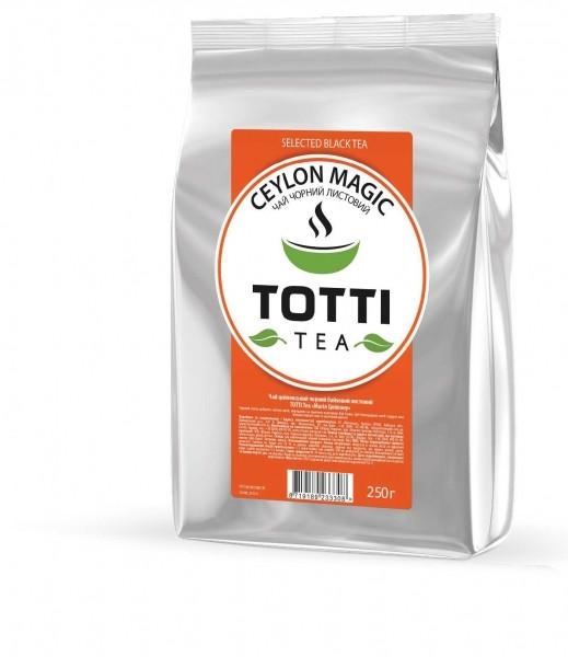 "Черный Чай Totti Тea Ceylon Magic ""Магия Цейлона"" 250гр"