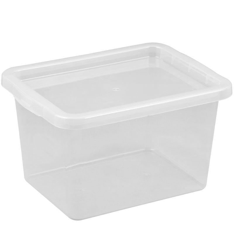 Ящик для зберігання з кришкою BASIC 13л