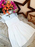 Нарядное платье с фатиновой юбкой Оптом и в розницу Турция 6-12 лет