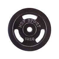 Диск чугунный Hop-Sport Strong 10 кг