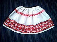 Спідничка з українським орнаментом. Етно-стиль