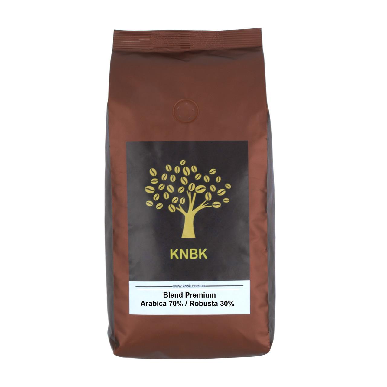Купаж кофе KNBK PREMIUM Арабика 70 % / Робуста 30 % 1кг.