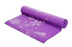 Коврик для йоги и фитнеса PowerPlay 4011 0.4см