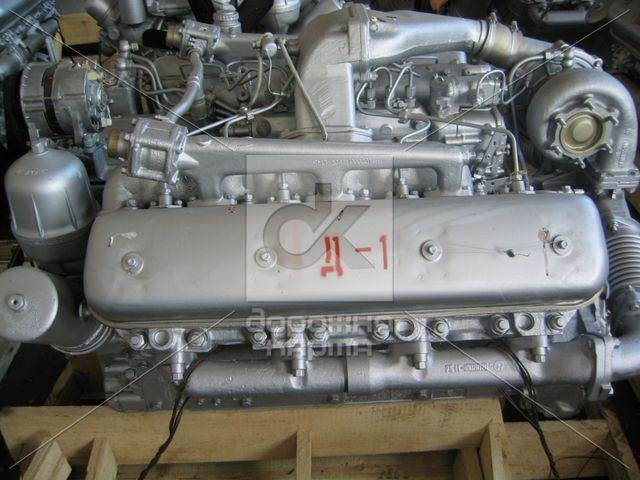 Двигатель ЯМЗ 238Д-1 (СУПЕРМАЗ) в сб. без КПП и сцепл. (пр-во ЯМЗ)