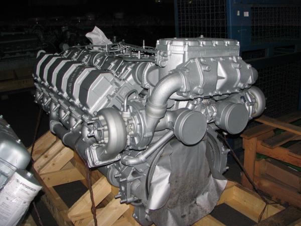 Двигун ЯМЗ 8401-06 в сб. без КПП і сцепл. (пр-во ЯМЗ)