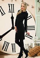 Вечірнє чорне плаття з відкритою спиною Vira (S-M, M-L)