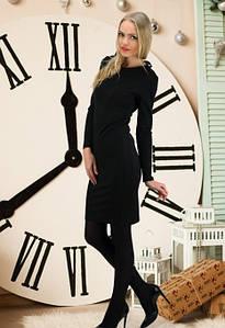(S-M, M-L) Вечірнє чорне плаття з відкритою спиною Vira Розпродаж
