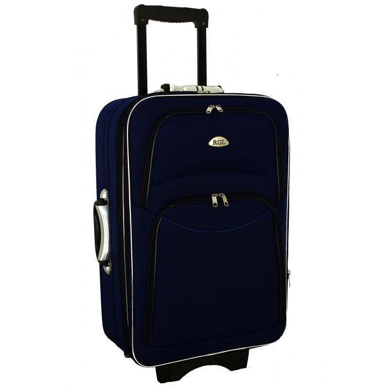 Чемодан сумка 773 (средний) синий