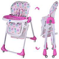 Детский стульчик для кормления BAMBI M 3233-8. Гарантия качества. Быстрая доставка.