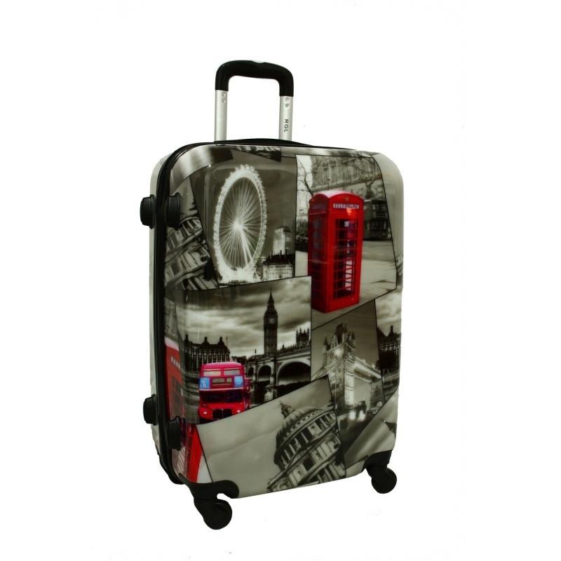 Чемодан сумка RGL (небольшой) City London