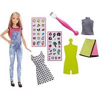 Кукла Барби Эмоджи дизайнер Barbie D.I.Y. Emoji Style Doll Set, Blonde Hair, фото 1