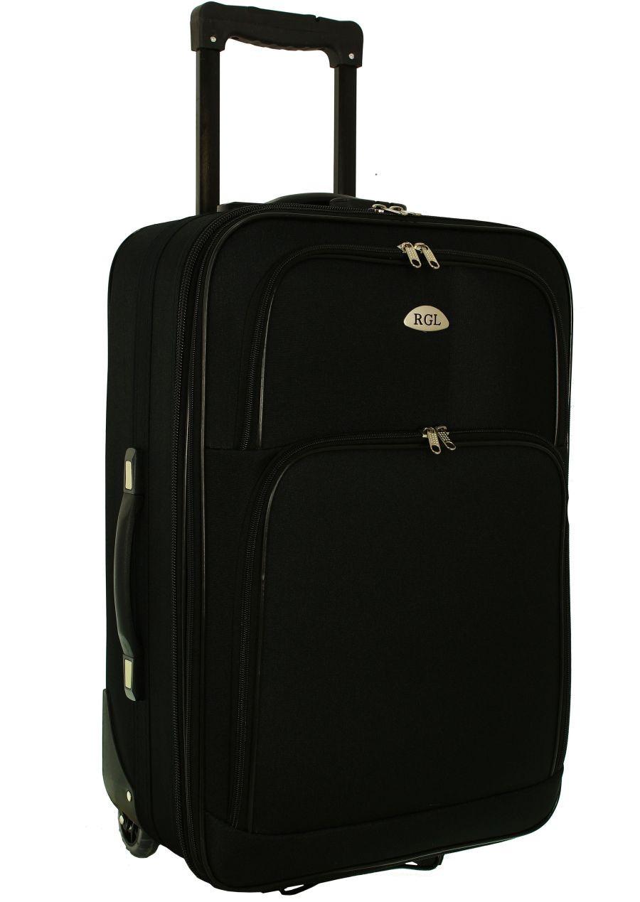 Чемодан сумка RGL 652 (средний) черный