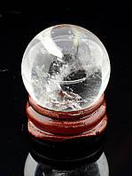 046849 Шар Горный хрусталь 38хмм.  шарик из натурального камня