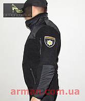 Флисовая кофта для полиции. Плотная. Новая.