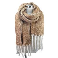Теплый зимний шарф Одеяло 2