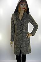пальто- кардиган з капюшоном