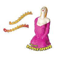 Подарок парню - открывалка для бутылок в виде девушки Код:4221726