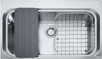 Мойка кухонная FRANKE AEX 610-A полированная