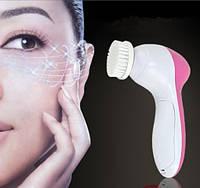 Автономный аппарат для массажа и очистки кожи лица 5 в 1 (beauty care massager), AE-8782 Код:27883566