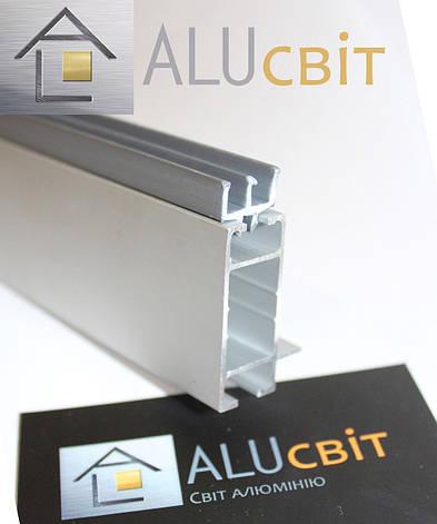 Ш-образный профиль 5мм торговый для витрин и прилавков, для стекла, акрила, ДВП, фото 2