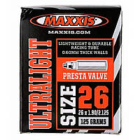 Камера велосипедная Maxxis Ultralight 26˝x1.90-2.125˝ (48/54-559) FV (IB63828900)
