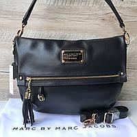 c7f1a21cafb7 Женская кожаная сумка Marc Jacobs Марк Джейкобс