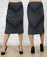 Шерстяная теплая юбка KN-0104