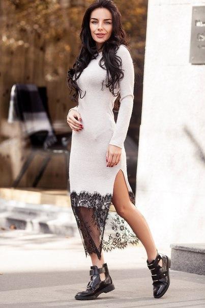 64666a967c2 Женское повседневное платье миди