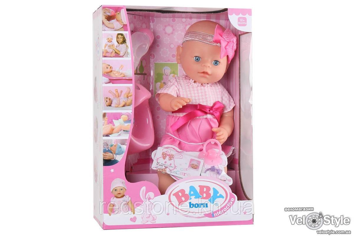 Пупс Baby Born Беби Борн с аксессуарами 6 ф. №3