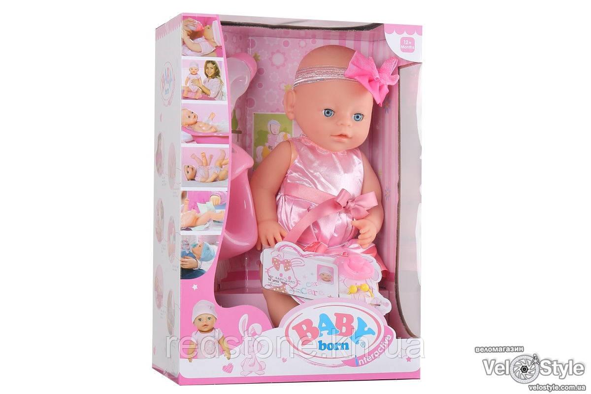 Пупс Baby Born Беби Борн с аксессуарами 6 ф. №2