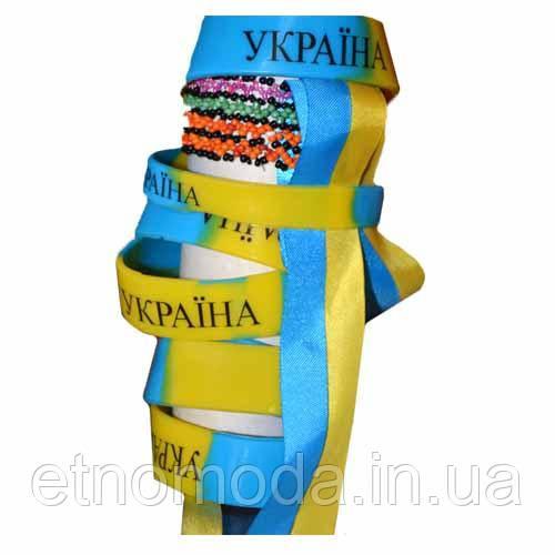 "Силіконовий Браслет ""Україна"""